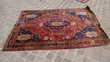 tapis persan ancien fait main CHIRAZ 215 x 151 Décoration