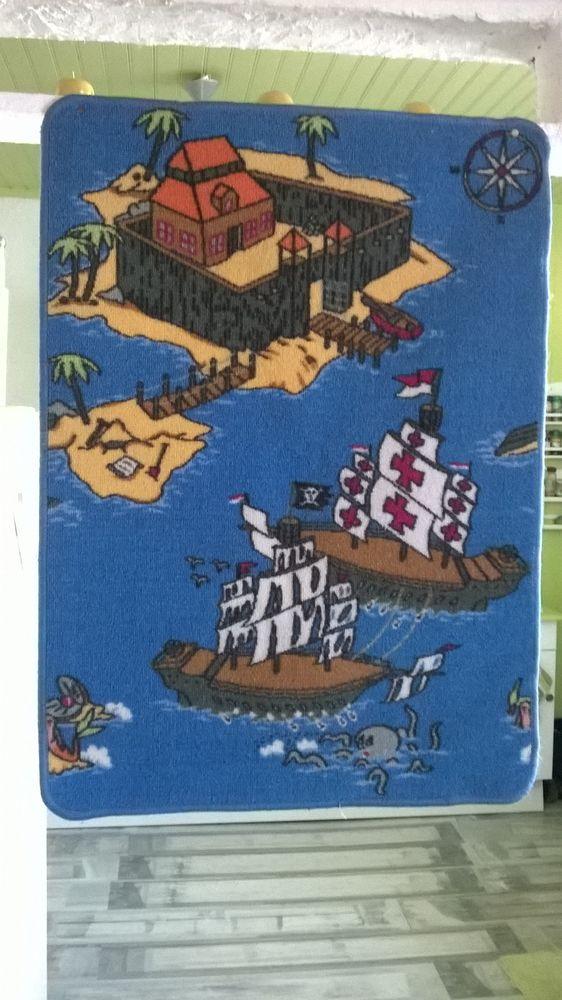 Tapis de jeu pour enfant Représentant 1 scène de bateaux de 0 Talange (57)