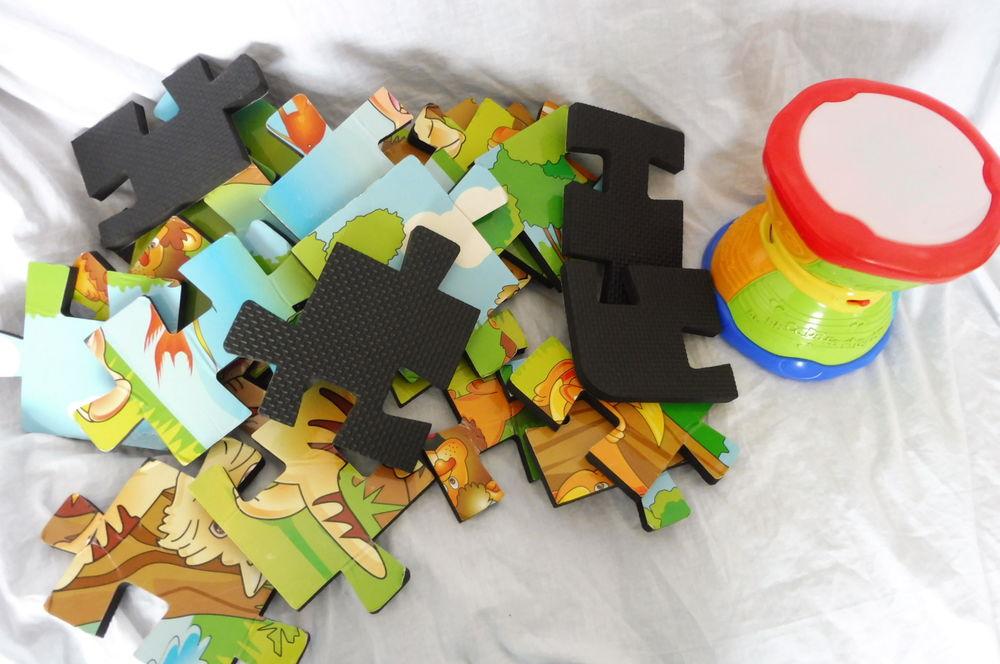 Tapis puzzle + tambour 2 Amiens (80)