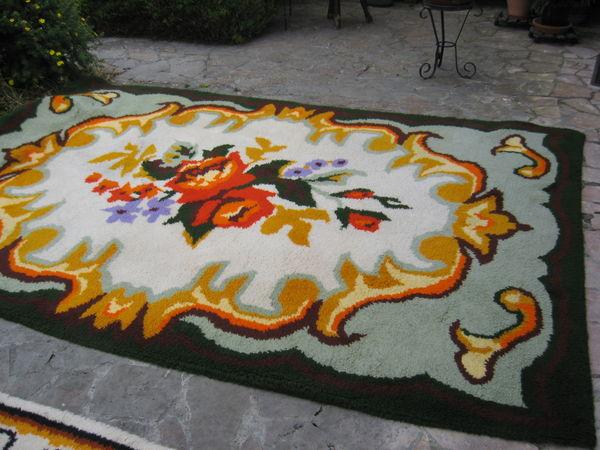 tapis de salon pur laine fait main 50 Lorris (45)