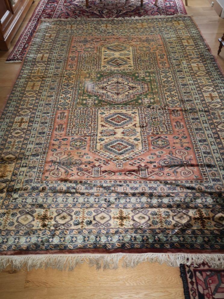 Tapis en soie du PAKISTAN 3500 Villecresnes (94)