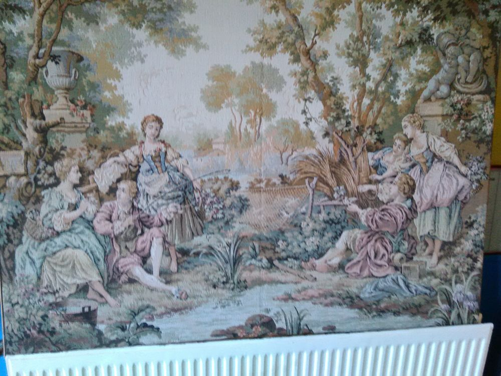 Tapisserie Aubusson 0 Perrecy-les-Forges (71)