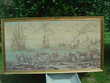 TAPISSERIE MURALE ANCIENNE TISSEE Chey (79)