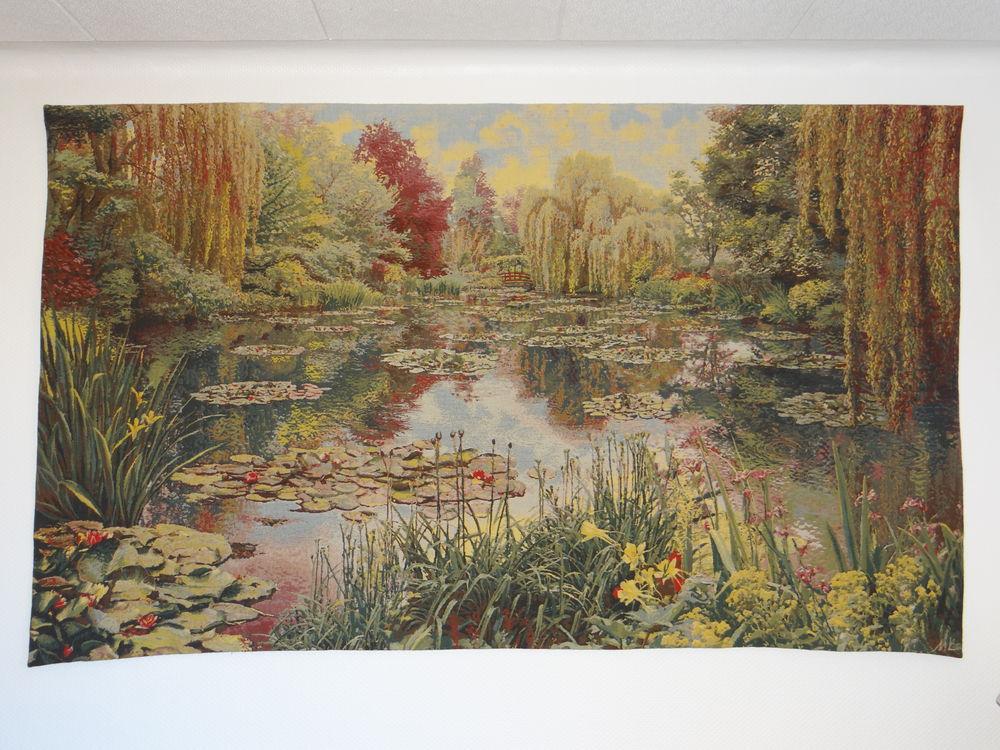 Tapisserie murale  Le jardin de Monet  1200 Birlenbach (67)
