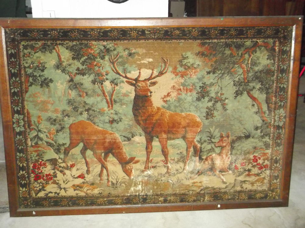 Tapisserie murale .  50 Oiry (51)