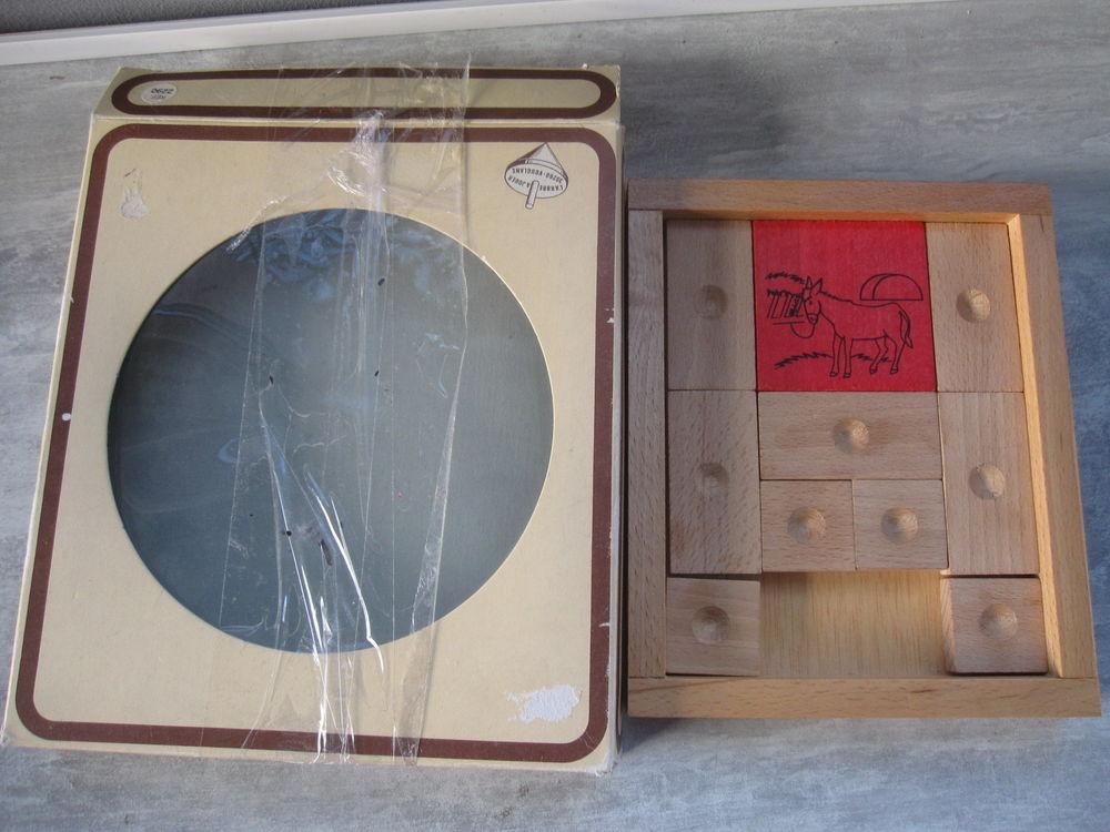Jeu de taquin en bois l'âne rouge 8 Saint-Jean-Pla-de-Corts (66)