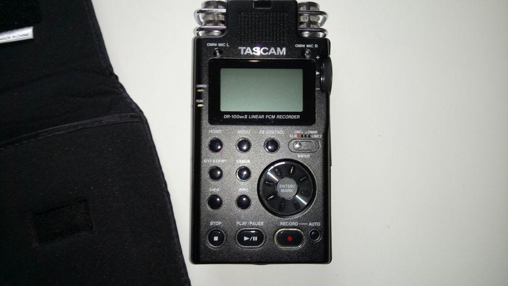 TASCAM DR-100mkII, enregistreur stéréo portable PCM linéaire 325 Saint-Etienne (42)
