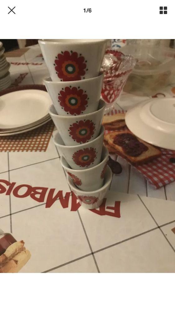 lot de 6 tasse anciennes en porcelaine 15 Lyon 8 (69)