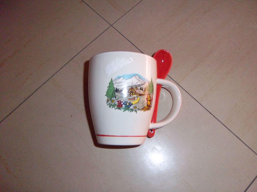 tasse avec cuillère 1 Bossay-sur-Claise (37)