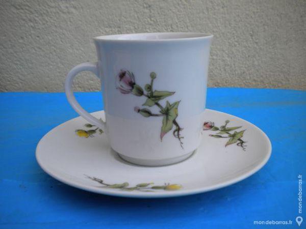 TASSE et sous-tasse à café 2 Dammarie-les-Lys (77)
