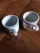 2 tasses épaisses dites 'brulots '