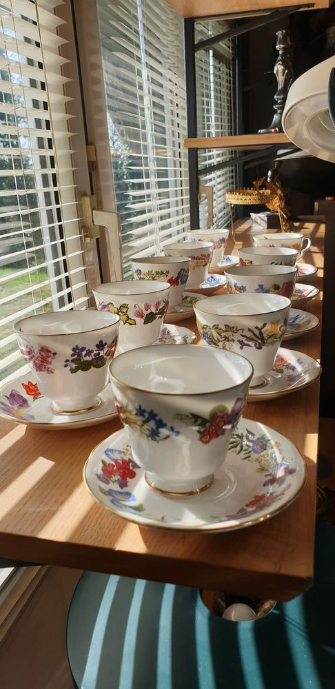Tasses porcelaine anglaise 60 Trappes (78)