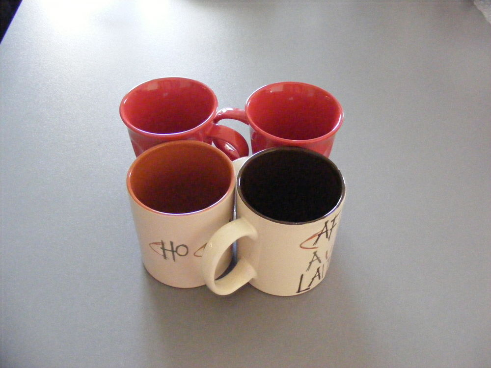 Lot de tasses 6 tasses Cuisine