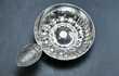 """Tastevin en métal argenté  """"Confrérie de St Vincent à Macon. 30 Montargis (45)"""