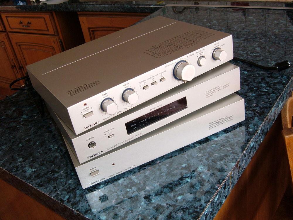 """TECHNICS """"audio Slim Line"""" 1978 Audio et hifi"""