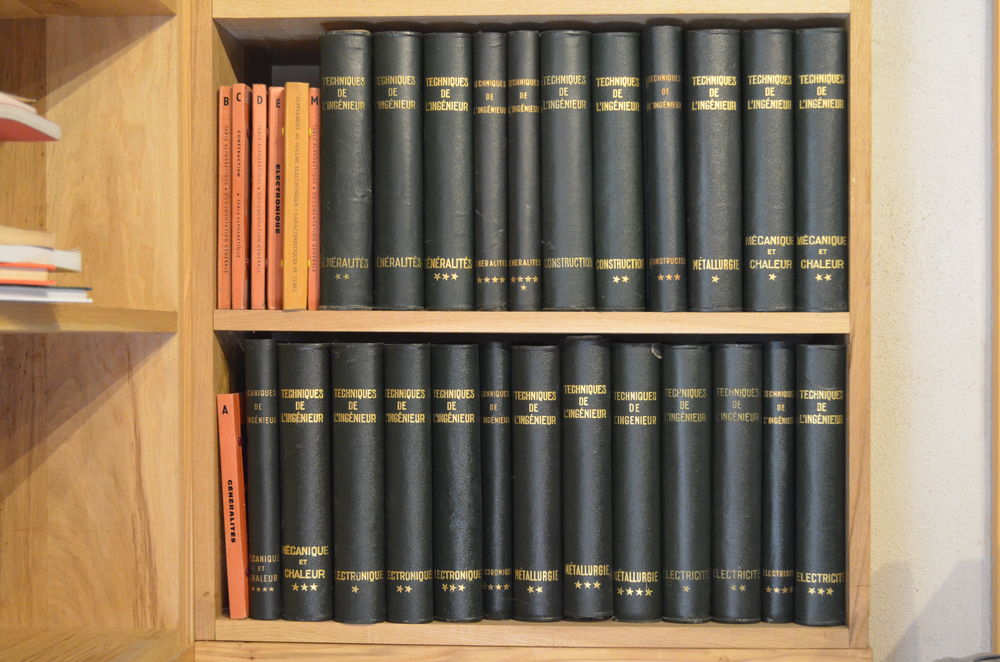 TECHNIQUES DE L' INGÉNIEUR Edition 1965 24 volumes 400 Landaul (56)