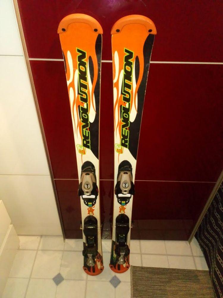 ski TECHNOPRO/REVOLUTIONS Bon état Long : 1.20 80 Mimizan (40)