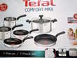 TEFAL Batterie 7 pièces induction COMFORT MAX inox Stains (93)