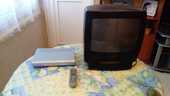 Télé avec magnétoscope intégré plus son décodeur TNT 40 Caen (14)