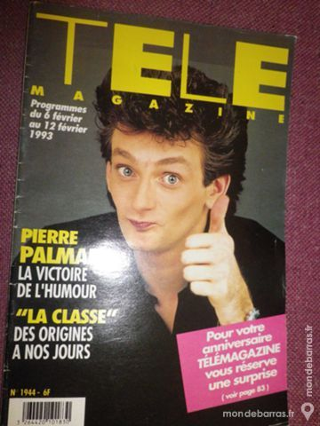 Télé Magazine n°1944 10 Ligné (44)