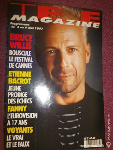 Télé Magazine n°2165 10 Ligné (44)