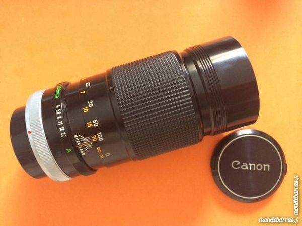Télé Objectif Canon FD  200mm 45 Nice (06)