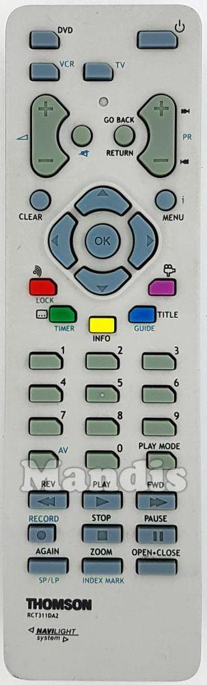 Télécommande Thomson RCT311DA2 Occasion Photos/Video/TV