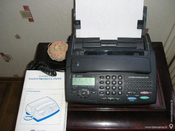 télécopieur SAGEM PHONEFAX 370/375 40 Nice (06)
