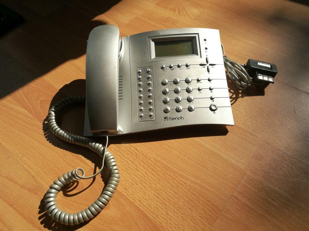 Téléphone BENCH répondeur gris métallisé 25 Olivet (45)