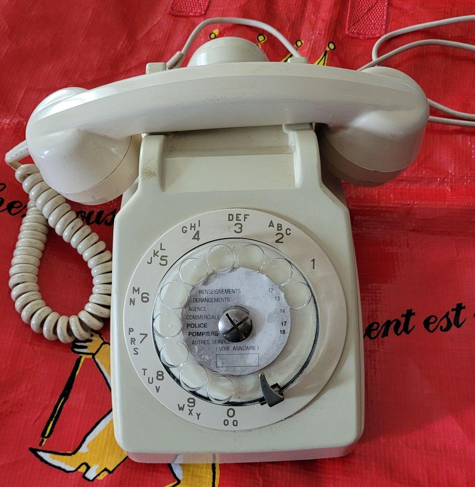 TELEPHONE à CADRAN IVOIRE 15 Juvisy-sur-Orge (91)