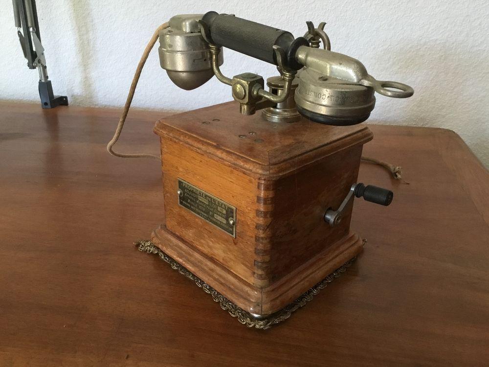 Téléphone époque 1910 200 Gémenos (13)