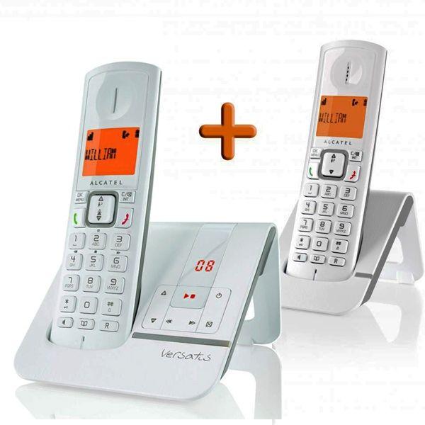 Téléphone fixe répondeur double combinés ALCATEL 25 Noisy-le-Grand (93)