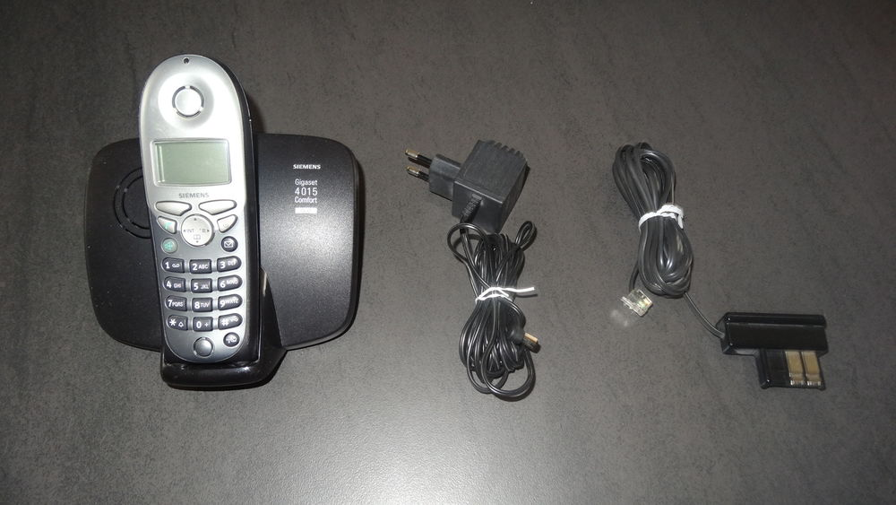 téléphone fixe Siemens avec répondeur intégré Téléphones et tablettes