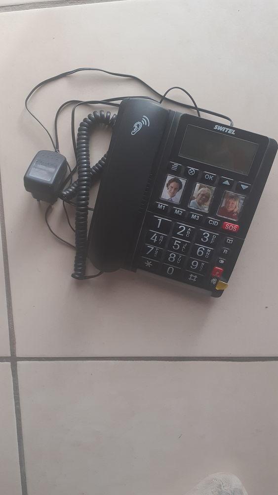 Téléphone  à grosses touches ? Switel TF 560 Grosses touches 35 L'Aiguillon (09)