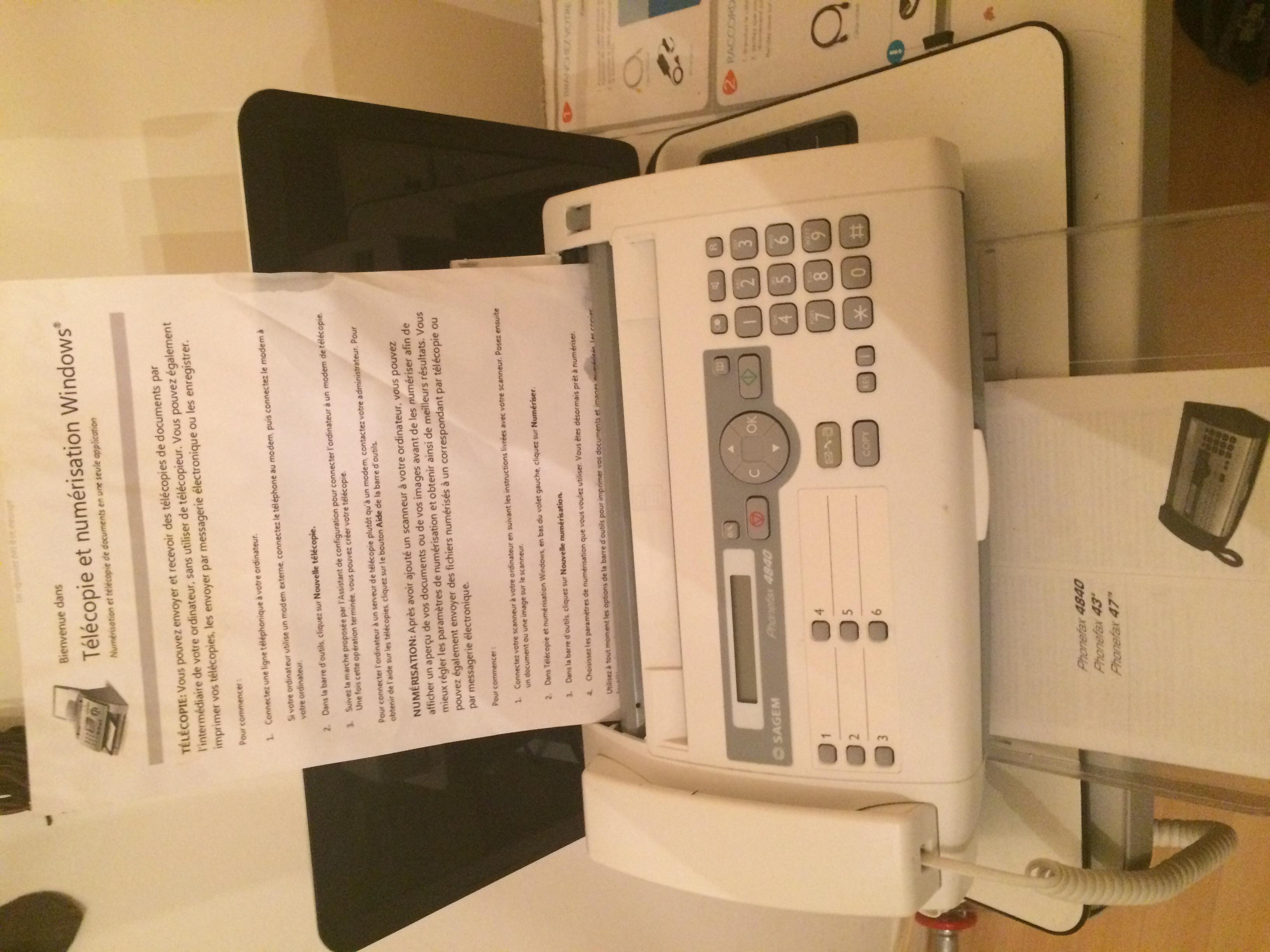 téléphone fax marque Sagem 15 Arras (62)