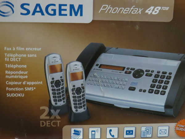 TELEPHONE FAX NEUF 150 Gif-sur-Yvette (91)