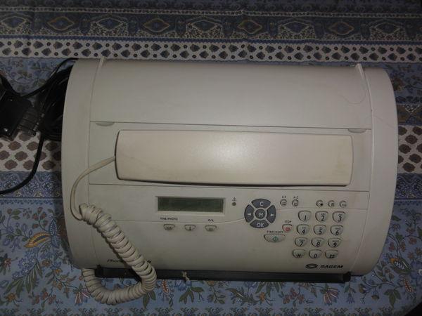 telephone fax phonefax 2840 SAGEM 32 Nanterre (92)