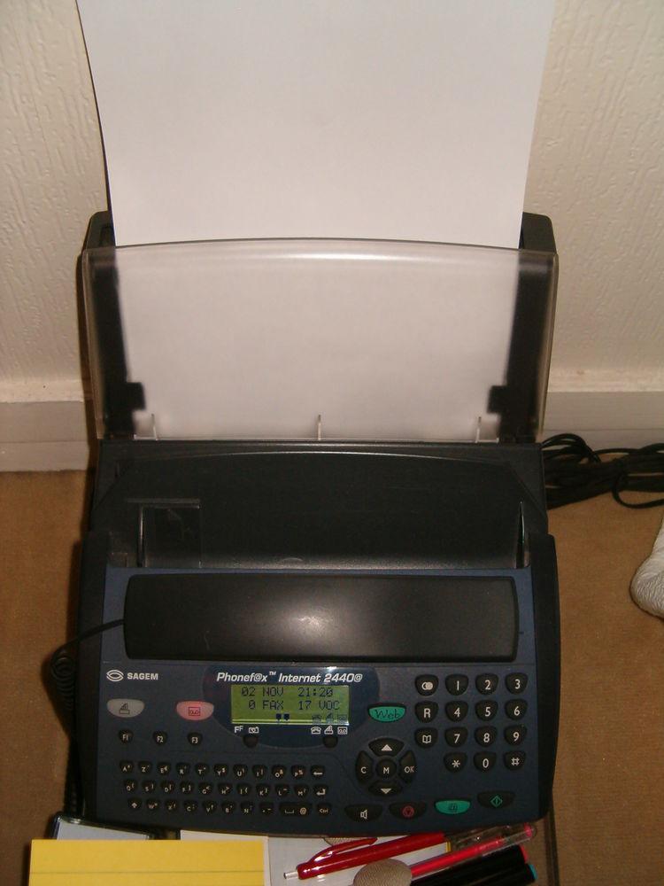 Téléphone répondeur fax internet +combiné sans fil 45 Paris 14 (75)