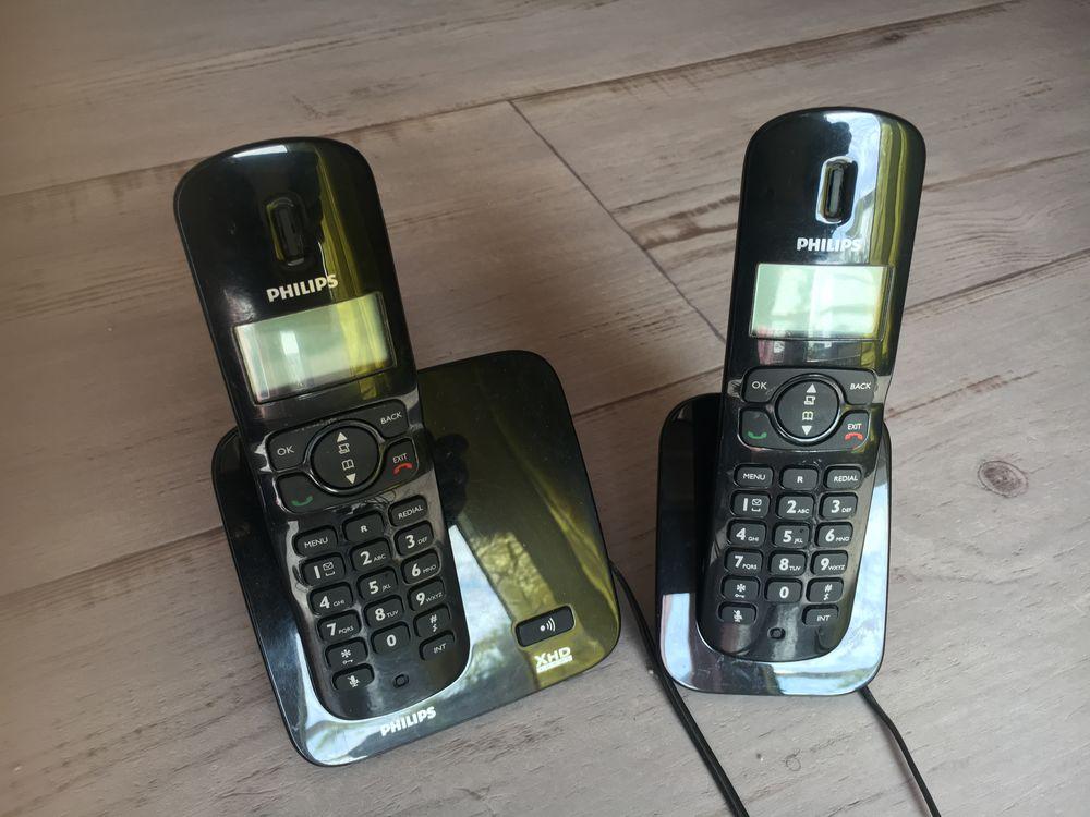 Téléphone sans fil avec répondeur  Marque Philips 20 Châtenay-Malabry (92)