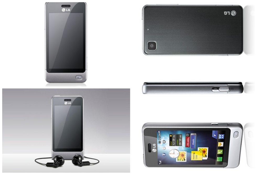 Téléphone Tactile - LG POP GD510 SILVER - (Débloqué) 20 Milhaud (30)