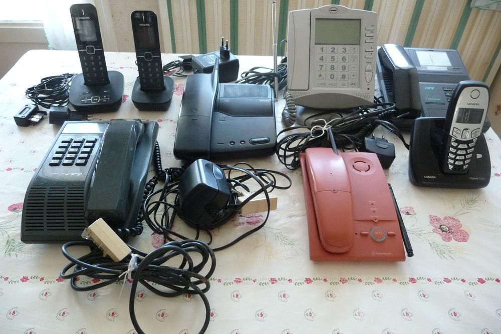 6 TELEPHONES  + 1 DUO  DE MARQUES DIVERSES 1 Beynost (01)