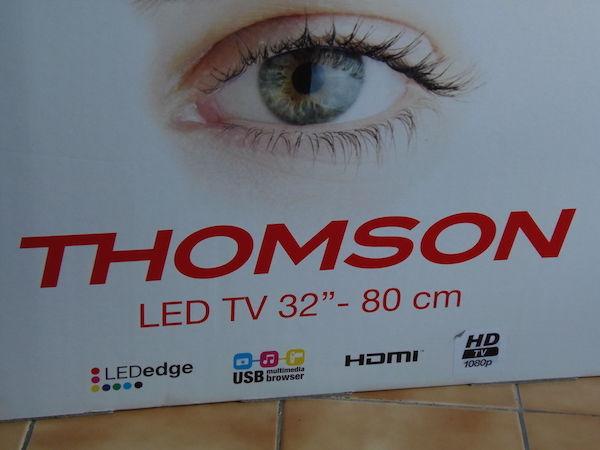 Téléviseur HD 80cm THOMSON - HDMI HD USB LEDedge 150 Salon-de-Provence (13)