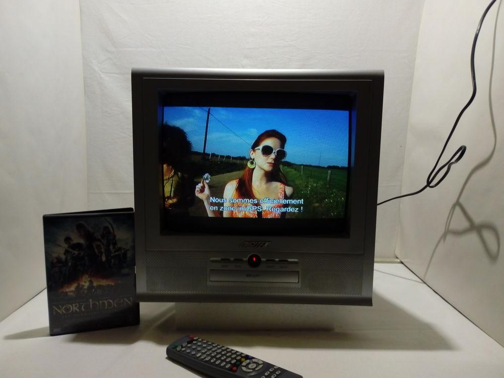 Téléviseur / lecteur DVD / DIGITEK / 36cm 80 Tours (37)