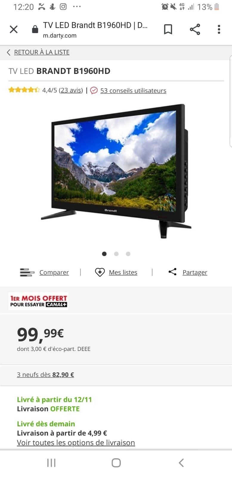 Televiseur 60 Paris 16 (75)