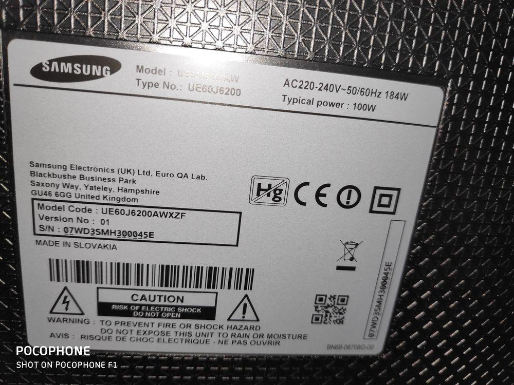 télévision Samsung 4k smart dalle cassé 100 Saint-Maur-des-Fossés (94)