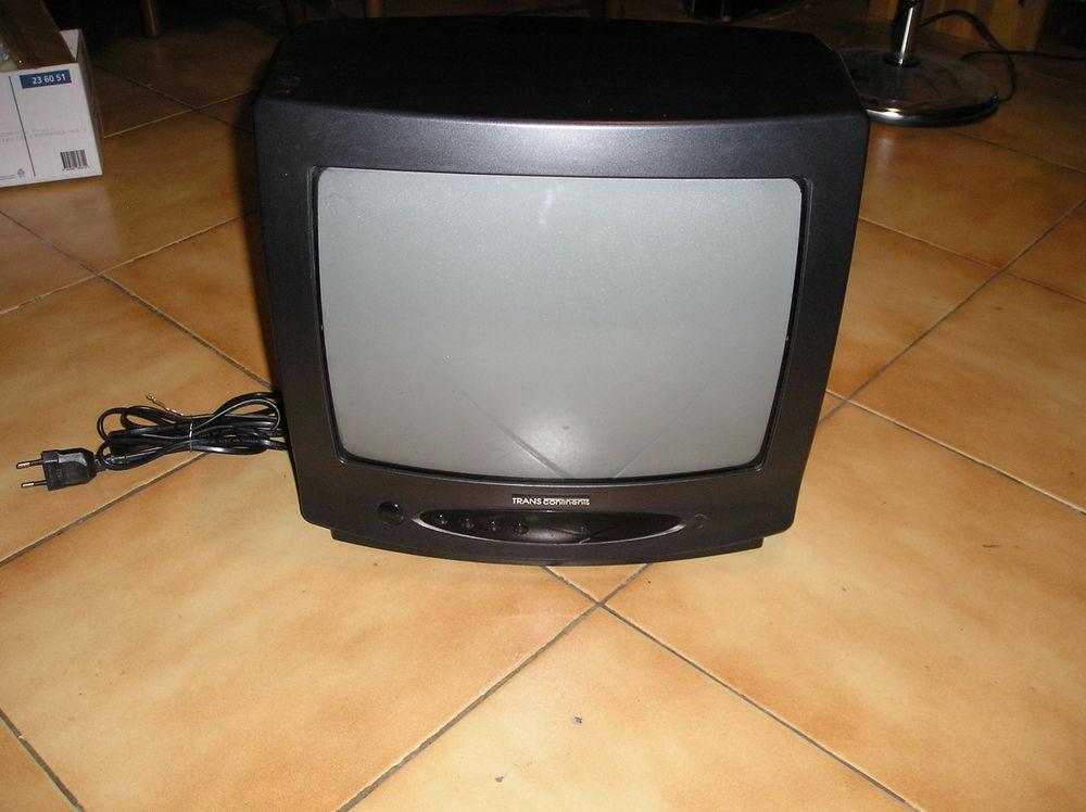 television trans continents - 35 cm  - en très bon état -  25 Septèmes-les-Vallons (13)