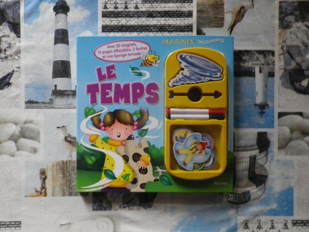 LE TEMPS Magnix Découvertes Ed. Piccolia  4 Bubry (56)