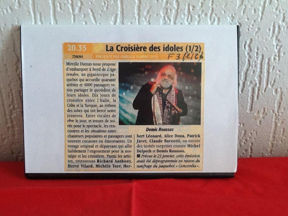 "DVD AGE TENDRE ""LA CROISIERE DES IDOLES"" DVD et blu-ray"