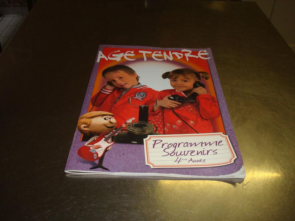 AGE TENDRE  Programme souvenirs 4 eme année 20 Bellevaux (74)
