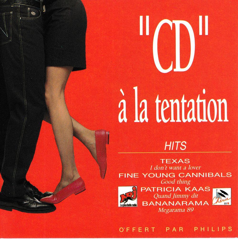 CD  À La Tentation Hits Objet Publicitaire Philips Compil 6 Bagnolet (93)